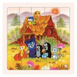 BINO - 15004 Puzzle Paní Krtečkova a přátelé 20 dílů