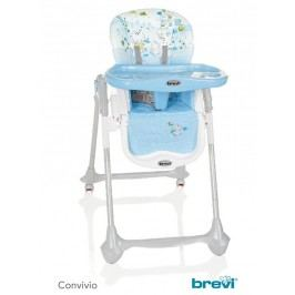 BREVI - CONVIVIO Jídelní židle 2017, 594, Modrá-Zvířátka