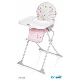 BREVI - JUNIOR Jídelní židle 2017, 595, Růžová-Zvířátka