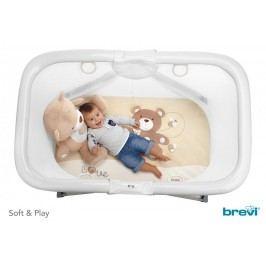 BREVI - S & P Dětská Ohrádka s hrací dekou, 2017, 553, Malý Macko