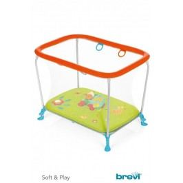 BREVI - S & P Ohrádka a 3D Podložka na hraní, 2017, 115, Zelená Farma