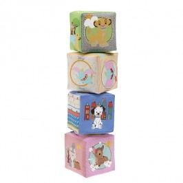 CHICCO - Hračka kostky textilní Chicco Disney