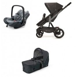 CONCORD - Mobility Set Wanderer Air + Scout Black