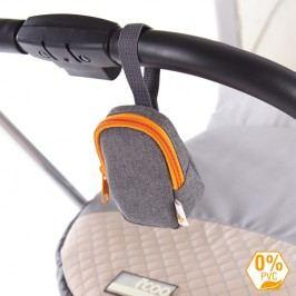 DIAGO - Pouzdro na dudlík, oranžové
