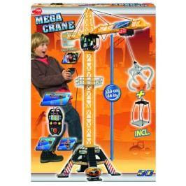 DICKIE - Jeřáb Mega Crane 120cm, na kabel