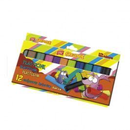 EASY - EasyCreative plastelina 12 barev/sada,192g