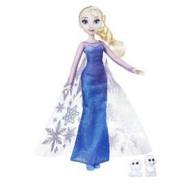 HASBRO - Frozen Panenka Elsa s třpytivými šaty a kamarádem B9201