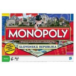 HASBRO - Monopoly Národní edice SK