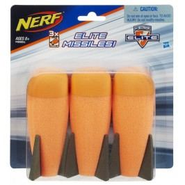 HASBRO - Nerf Mega 3 extra velké šipky A8951