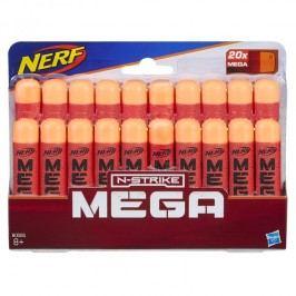 HASBRO - Nerf Mega Series náhradní šipky 20 kusů B0085