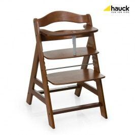 HAUCK - Židle na krmení Alpha + - Walnut 2018