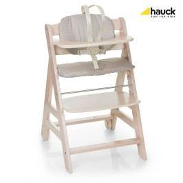 HAUCK - Židle na krmení Beta + - Whitewashed 2018