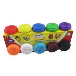KIDS TOYS - Modelína 10 x 50 g, různé barvy