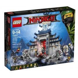 LEGO - Ninjago Movie 70617 Chrám nejmocnější zbraně