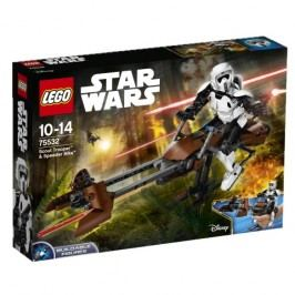 LEGO - Star Wars 75532 Průzkumný voják a speederová motorka