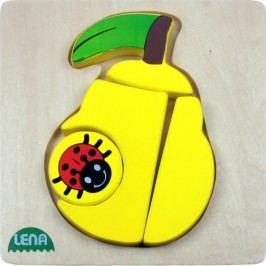 LENA - Dřevěné puzzle Hruška 32136