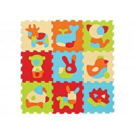 Puzzle pěnové 90x90cm Zvířátka