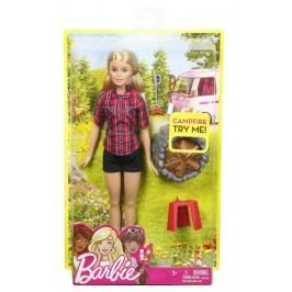 MATTEL - Barbie Panenka U Táboráku Asst