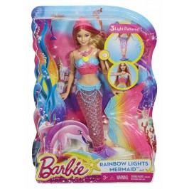 MATTEL - Barbie Duhová Mořská Panna