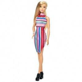 MATTEL - Barbie Fashionistas modelka Candy Stripes - Klasická DYY98