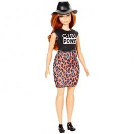 MATTEL - Barbie Fashionistas modelka Lovin 'Leopard - oblých tvarů DYY94