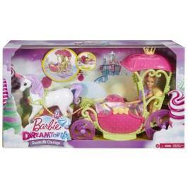 MATTEL - Barbie Kočár Ze Sladkého Království
