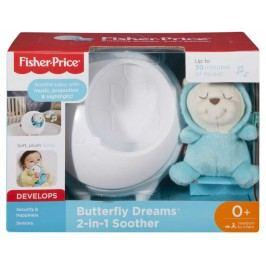 MATTEL - Fisher Price Projektor S Motýlím Kamarádem Pro Klidné Sny