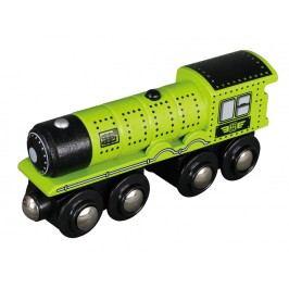 MAXIM - Parní lokomotiva zelená 50486