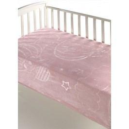 MORA - Dolcce Baby B12, 80x110, růžová