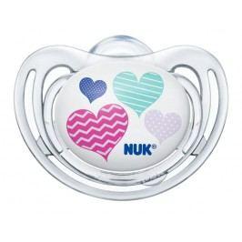 NUK - Dudlík FREESTYLE Silikonový, V2 (6-18m.), srdce