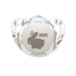 NUK - Dudlík Trendline ADORE,SI,V1 (0-6m.), šedá