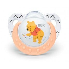NUK - Dudlík Trendline DISNEY-Medvídek Pú,SI,V2 (6-18m.), oranžová
