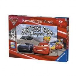RAVENSBURGER - Disney Auta 3 2X12 Dílků