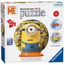 RAVENSBURGER - Mimoňové puzzleball 72 dílků