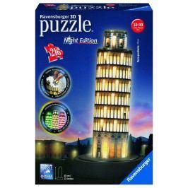 RAVENSBURGER - Šikmá věž v Pise (Noční edice) 216 dílků 3D
