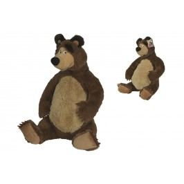 SIMBA - Máša a medvěd Plyšový medvěd 50 cm sedící