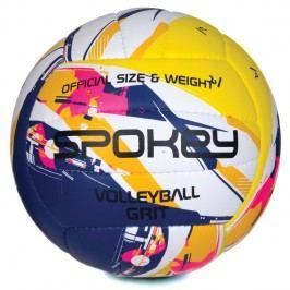SPOKEY - GRIT Volejbalový míč fialovo-žlutý č.5