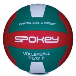 SPOKEY - PLAY II Volejbalový míč červeno-zelený vel.5