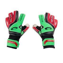 SPOKEY - SUPPORT Brankářské rukavice zeleno - červené roz.7