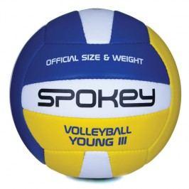 SPOKEY - YOUNG III Volejbalový míč modro-žlutý vel.4