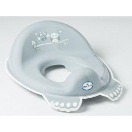 TEGA BABY - Adaptér na WC sovička šedý