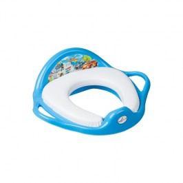 TEGA BABY - redukce na WC měkká Cars modrá