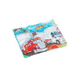 TEGA BABY - Polštář malý 30x40 Cars, modrý