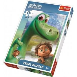 TREFL - Dobrý Dinosaurus puzzle maxi 24