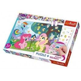 TREFL - Puzzle 35 My little pony + nálepky