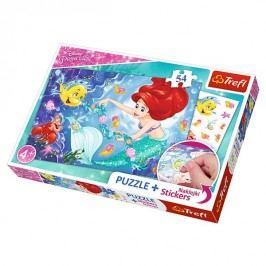 TREFL - Puzzle 54 Princess + nálepky