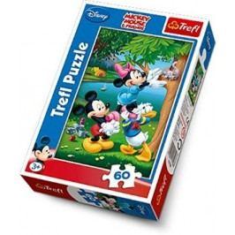 TREFL - Puzzle Mickey 60 dílů