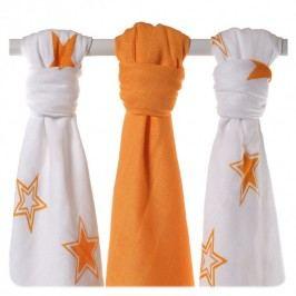 XKKO - BMB Hvězdy 70x70 - oranžová MIX (3ks)