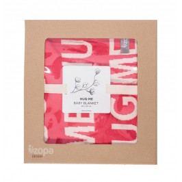 ZOPA - Dětská deka Hug Me, Redwine