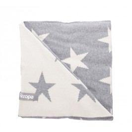 ZOPA - Dětská deka Stars, Grey